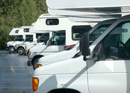 RV, Boat & Vehicle Storage.